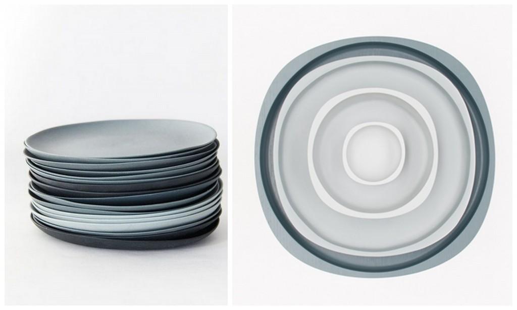зимний промдизайн grey plates