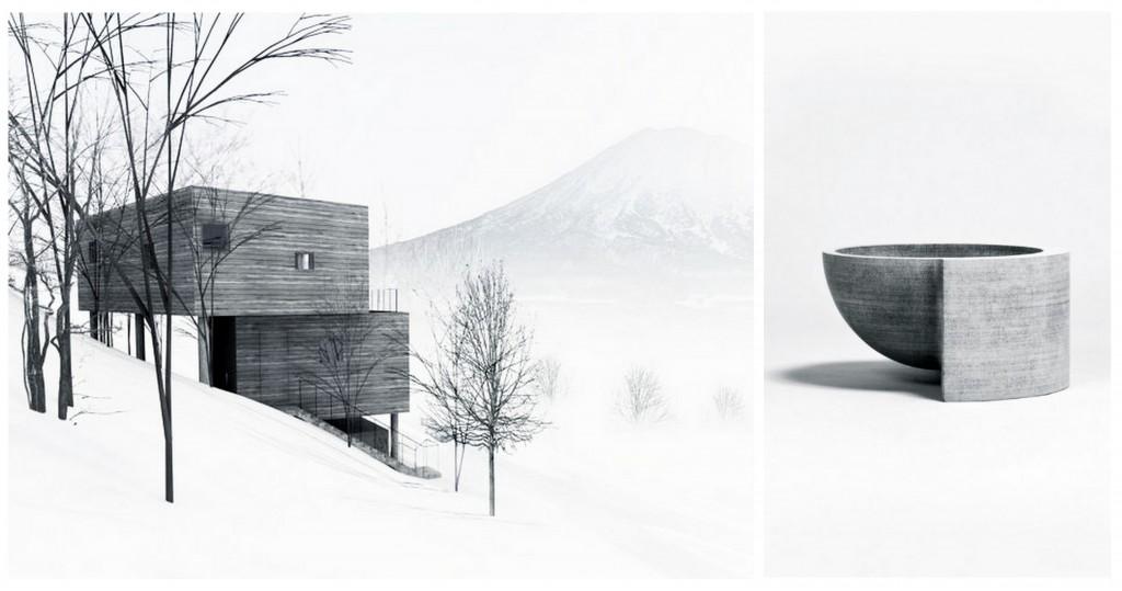 зимний дизайн grey