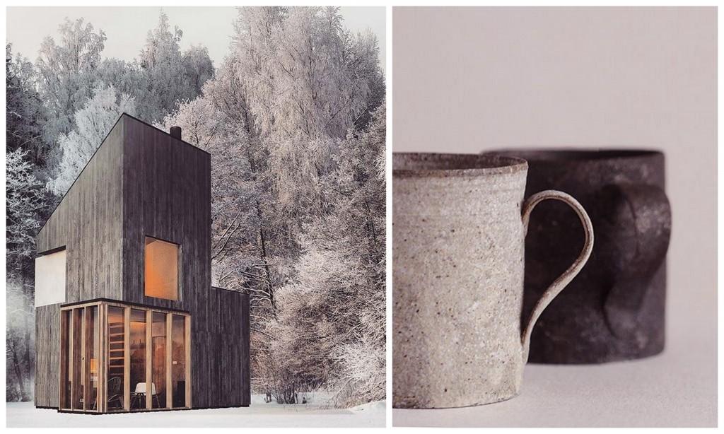 зимний дизайн rustic