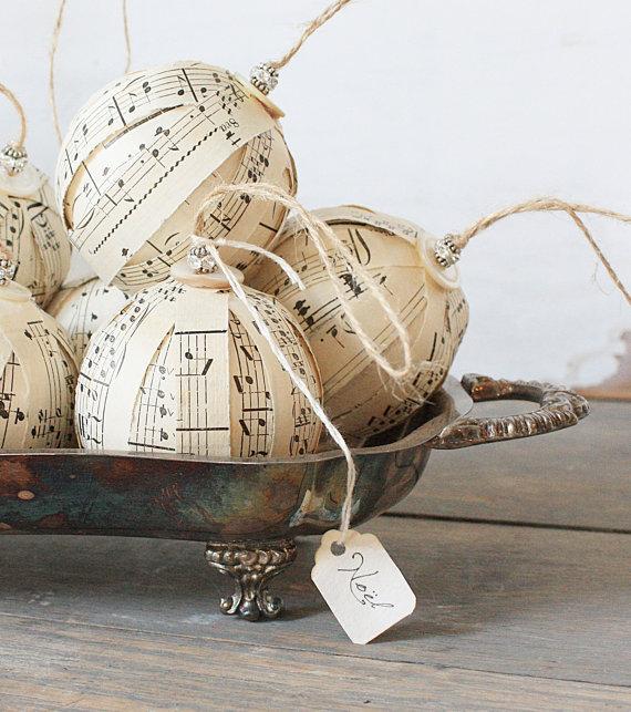 новогодние шары ClothandPatina