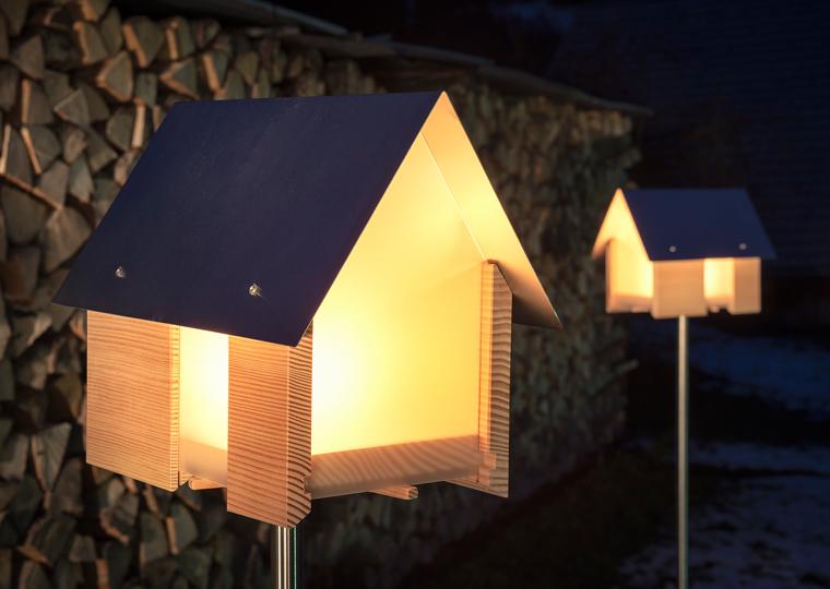 домики-подсвечники Lichthaus Design Im Dorf