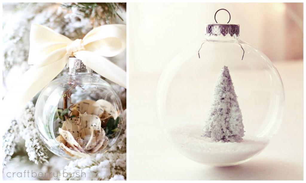 новогодние шары tree inside