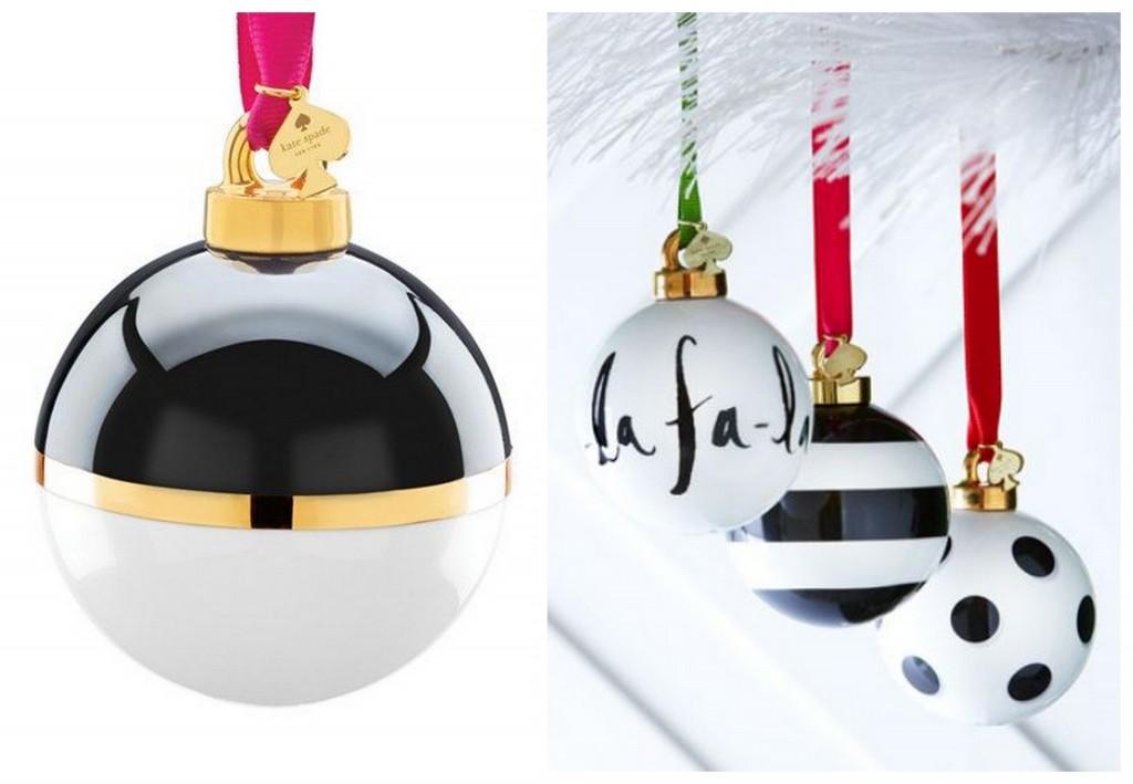 новогодние шары black&white