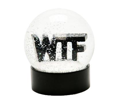 Подборка снежных шаров WTF snowglobe