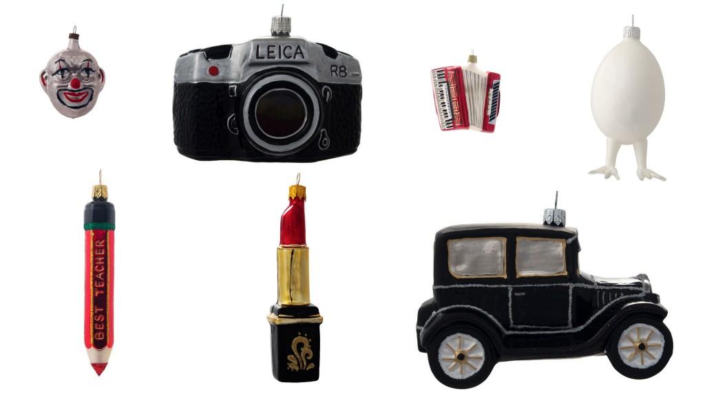 Современные елочные игрушки_vintage