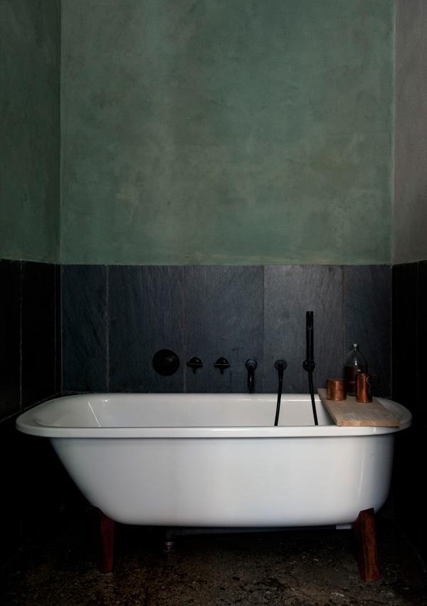Неординарный скандинавский интерьер bathroom