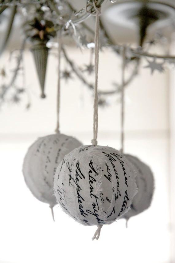новогодние шары quotesandnotes