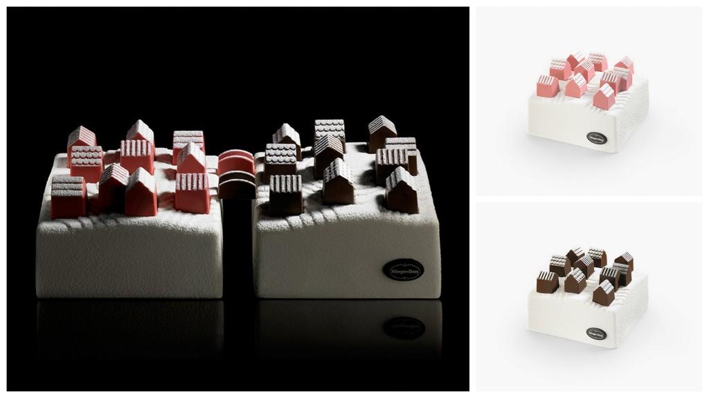 Домики на дессерт cakes by nendo