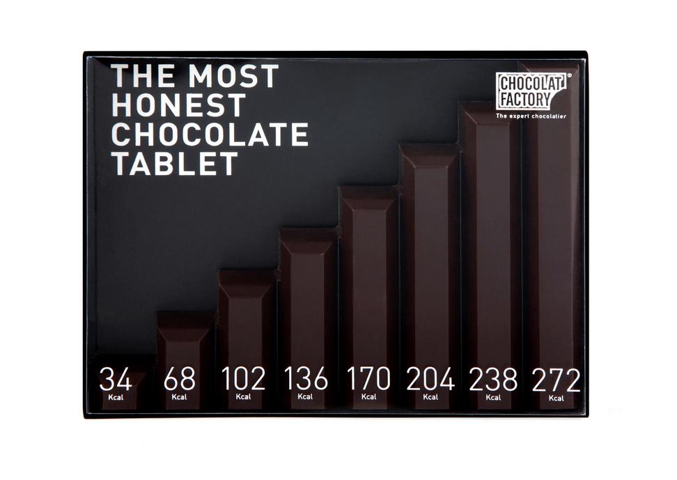 Необычные формы дизайнерского шоколада