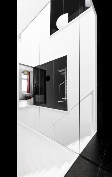 Графичные черно-белые интерьеры by Label Architecture