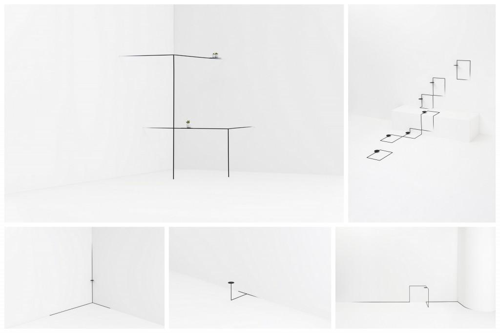 """Минималистичная """"нарисованная"""" мебель 3d-sketching-002"""