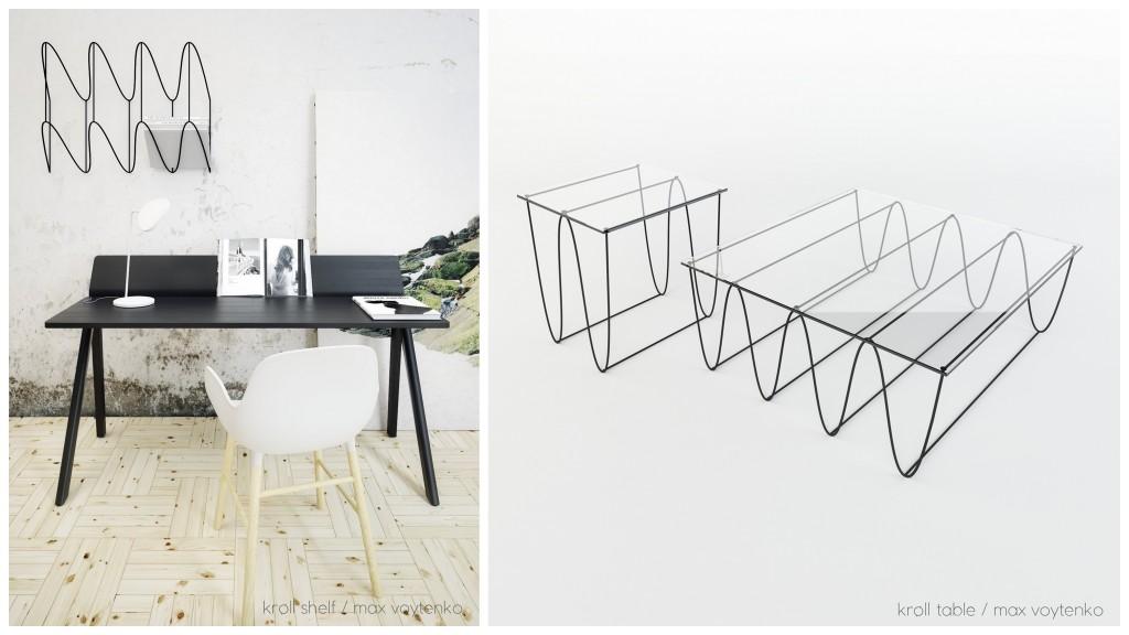 """Минималистичная """"нарисованная"""" мебель 3d-sketching-003"""