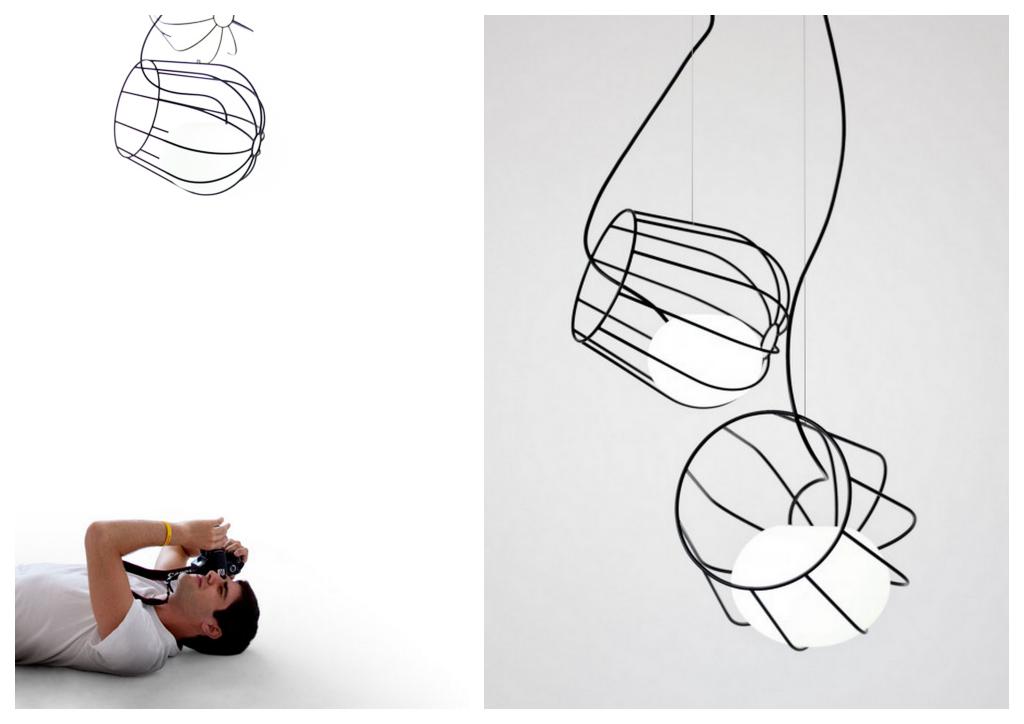 """Минималистичная """"нарисованная"""" мебель 3d-sketching-004"""