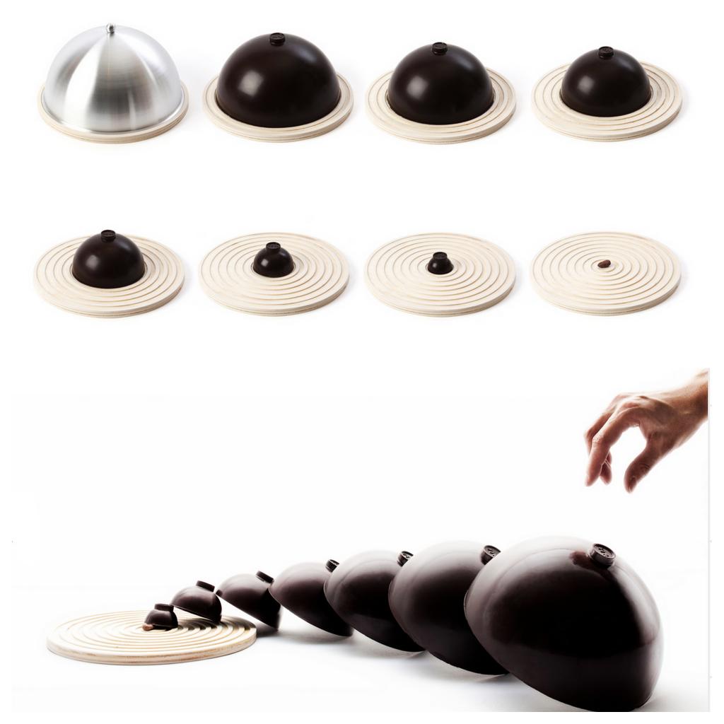 Необычные формы дизайнерского шоколада 002