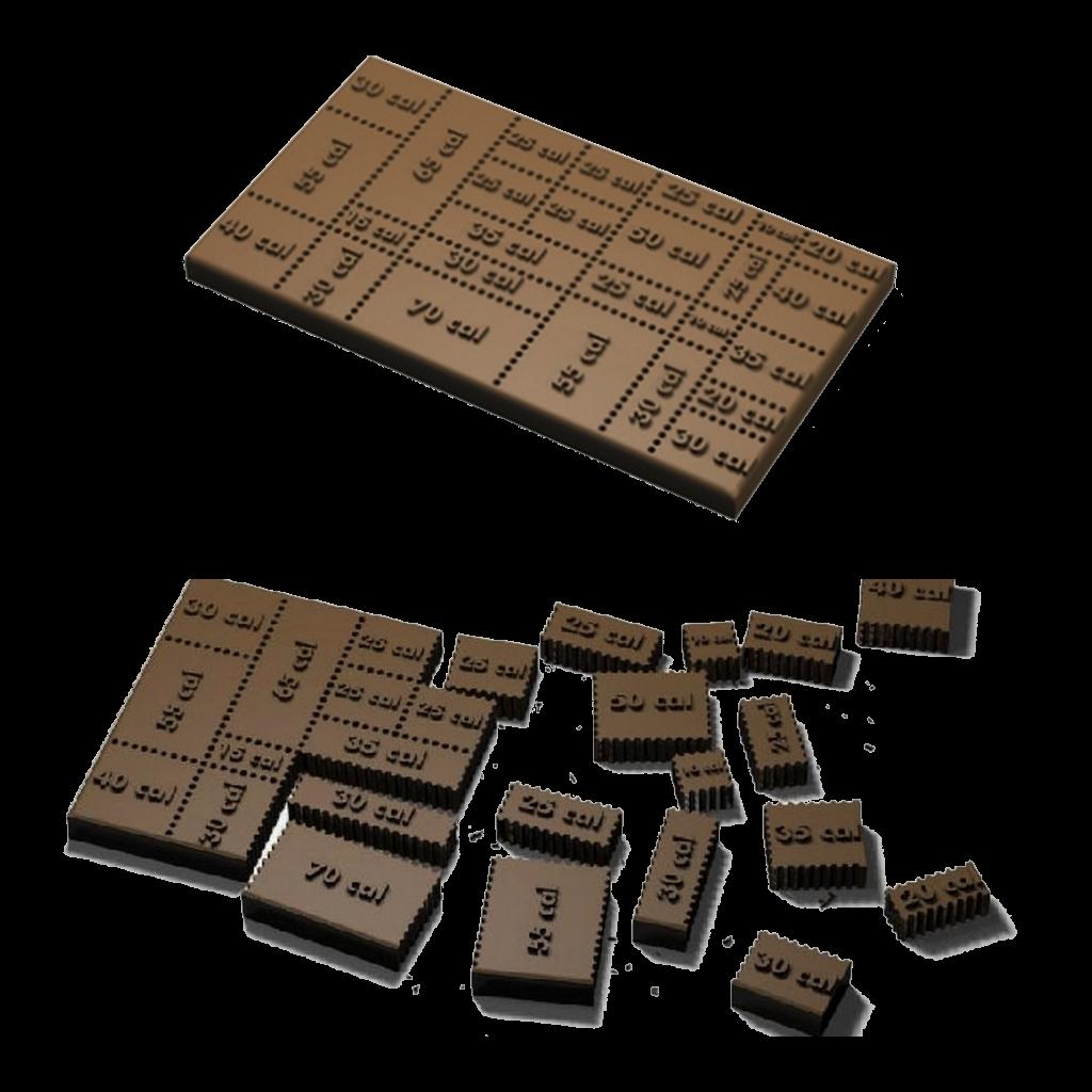Необычные формы дизайнерского шоколада 003