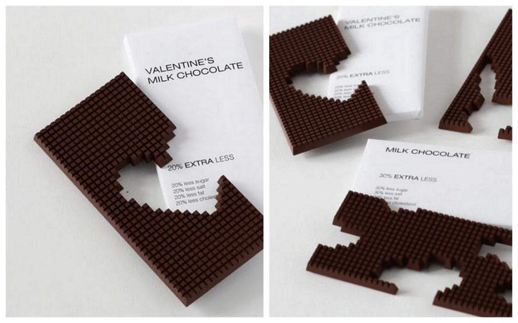 Необычные формы дизайнерского шоколада 004