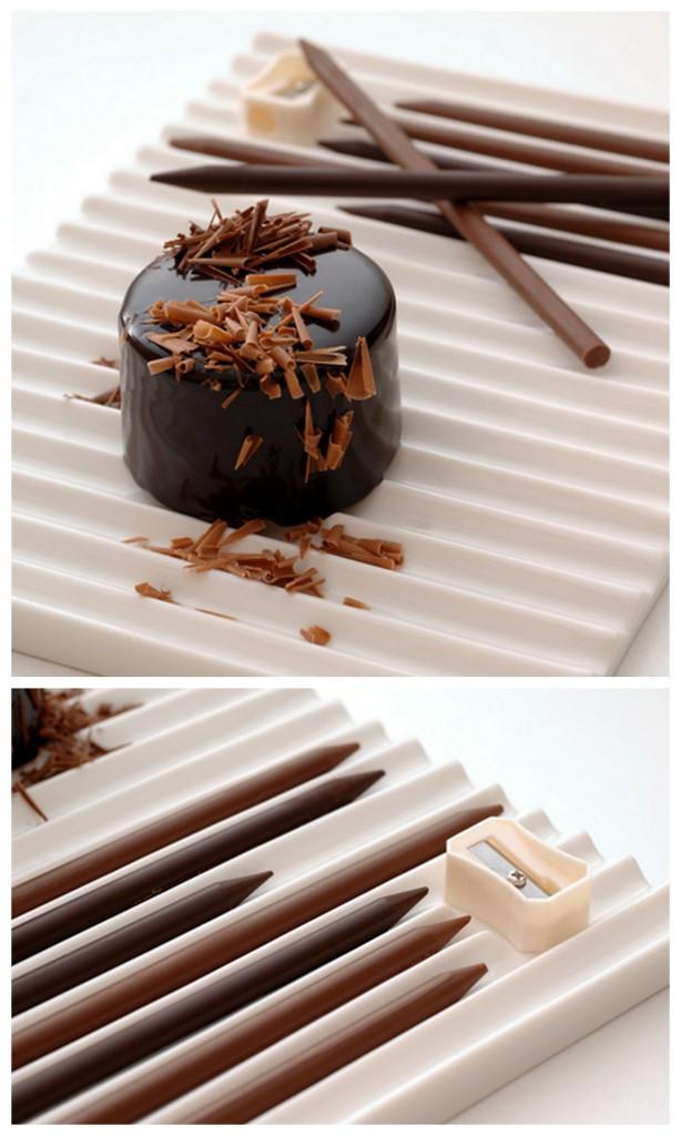 Необычные формы дизайнерского шоколада Chocolate shapes