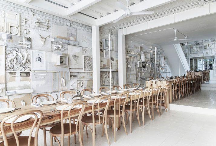 Необычные рестораны в Мексике и Гонконге Hueso restaurant