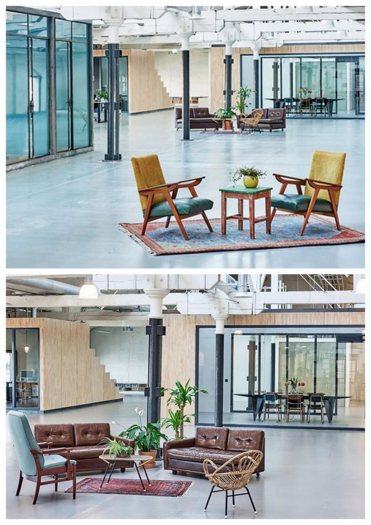 По-домашнему уютный офис в Амстердаме 001