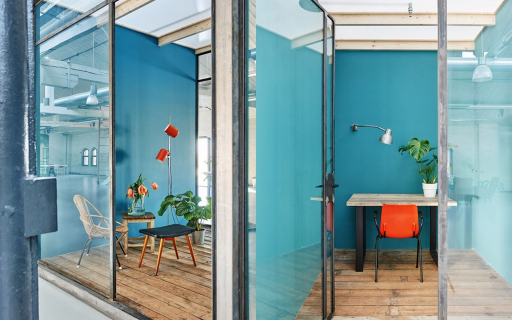 По-домашнему уютный офис в Амстердаме