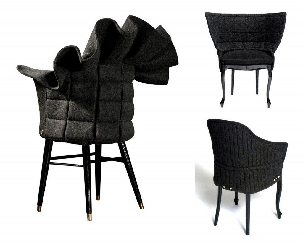 Разнообразная фетровая мебель Felt furniture-003