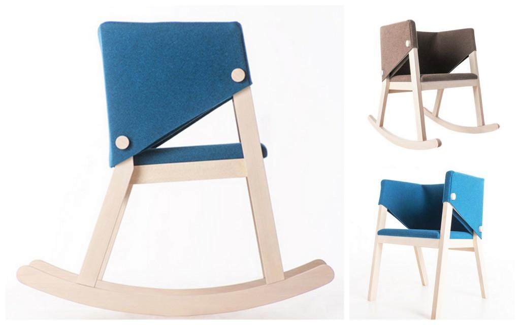 Felt furniture Разнообразная фетровая мебель