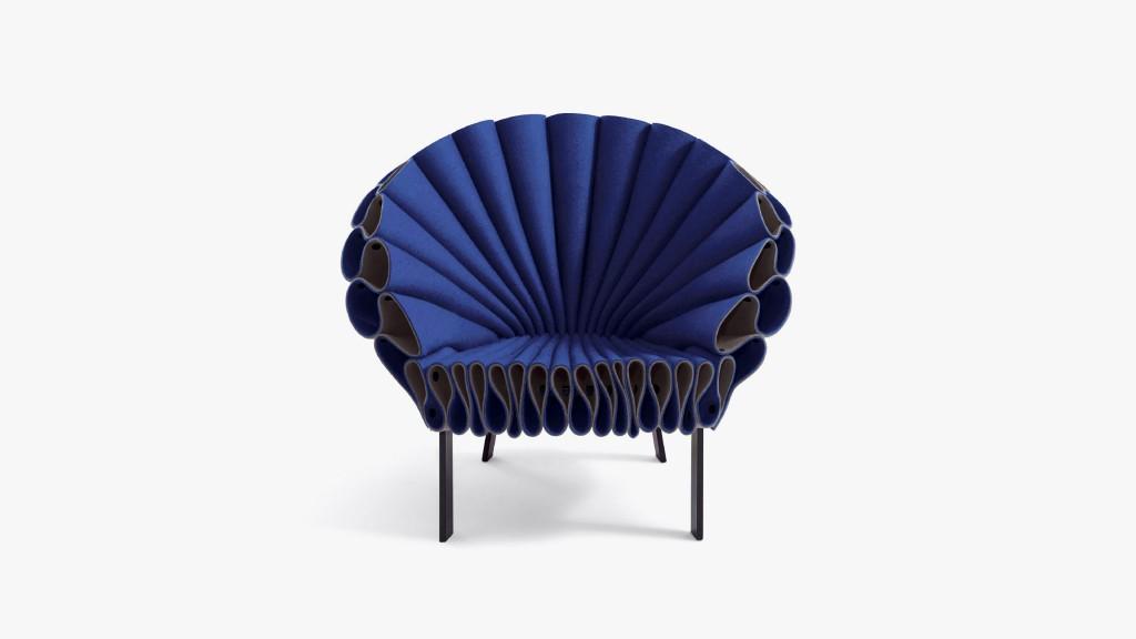 Разнообразная фетровая мебель cappellini