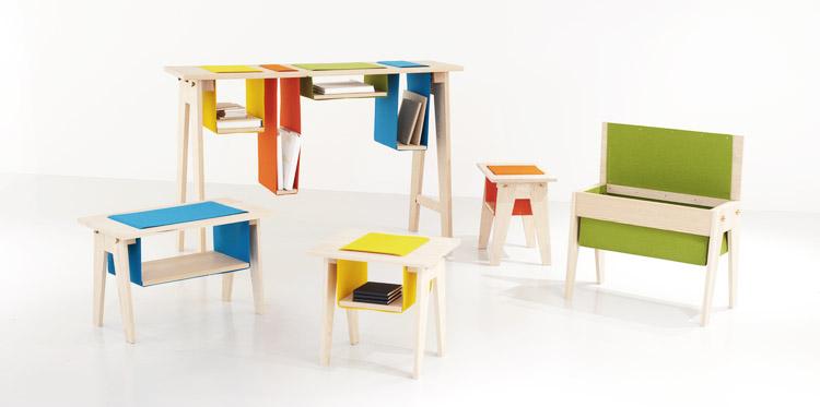 Разнообразная фетровая мебель squarespace.com