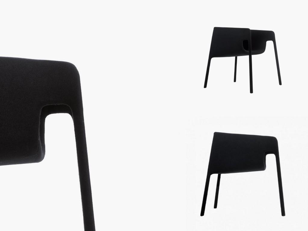 Минималистичные стулья с идеальными силуэтами 002