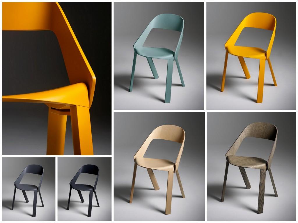 Минималистичные стулья с идеальными силуэтами 004