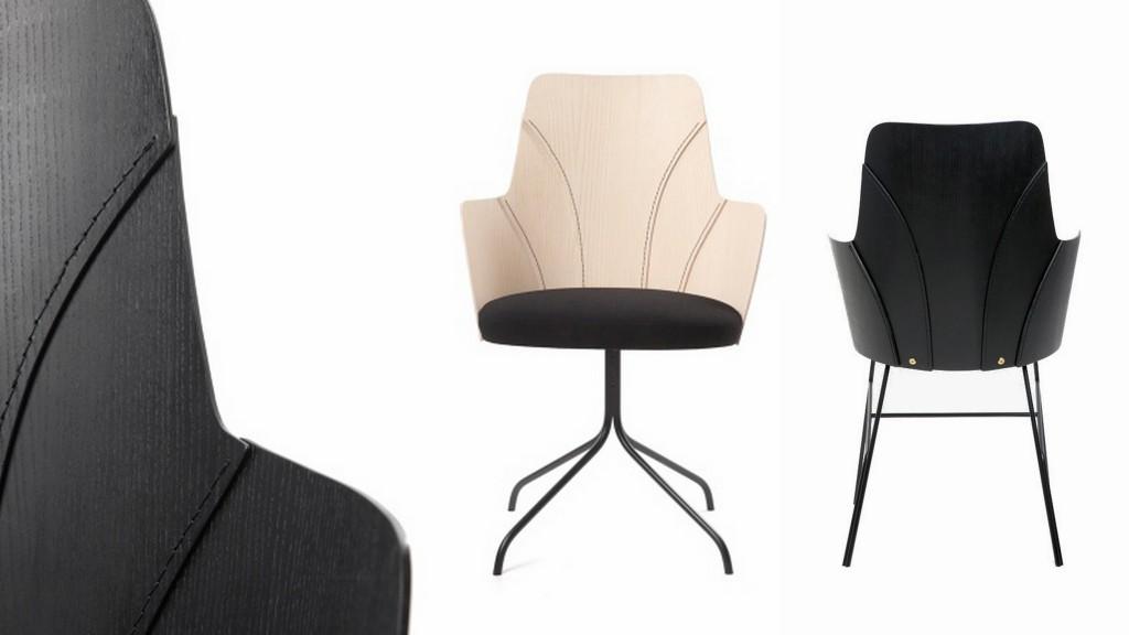 Минималистичные стулья с идеальными силуэтами 006