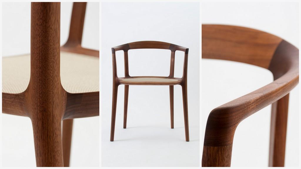 Минималистичные стулья с идеальными силуэтами 008