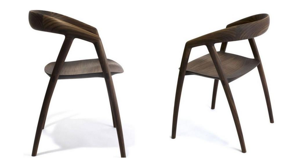 Минималистичные стулья с идеальными силуэтами 009
