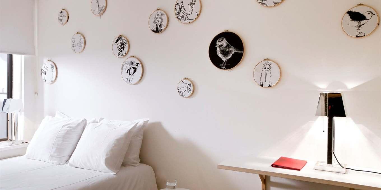 Уникальные номера отеля в Амстердаме bird room