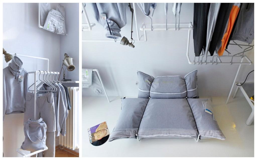 Необычные дизайнерские приемы для оформления потолков Living-room