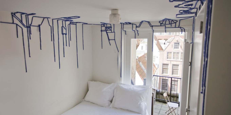 Уникальные номера отеля в Амстердаме building_view-natalie