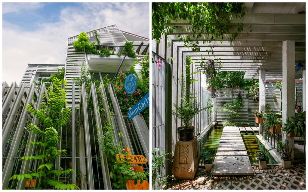 Необычное озеленение офисов Green offices