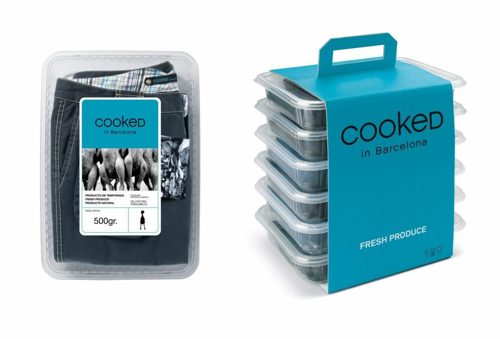 Необычные упаковки продуктов cooked