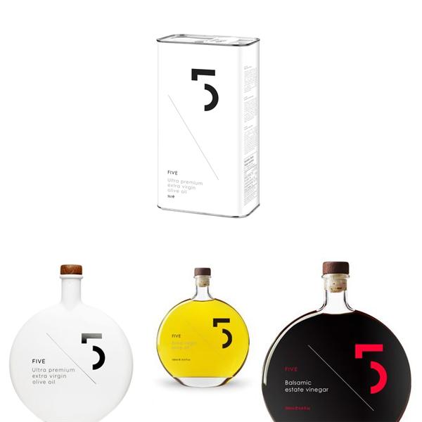 Необычные упаковки продуктов fiveoliveoil