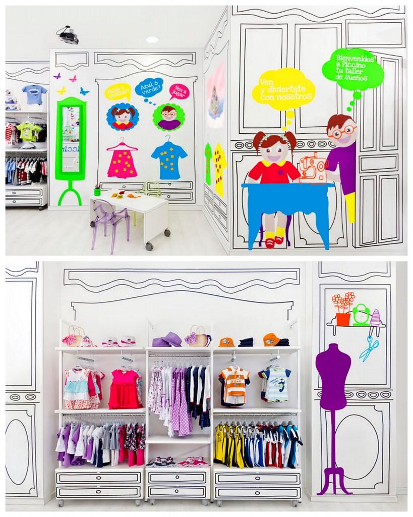 Интерьеры детских магазинов-002