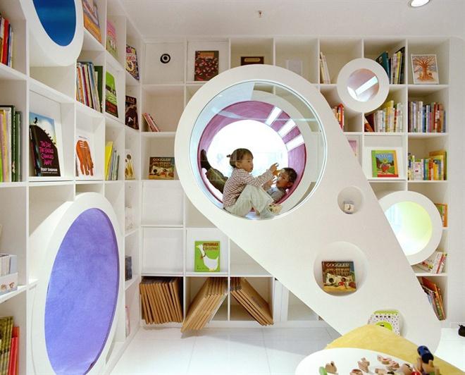 Интерьеры детских магазинов