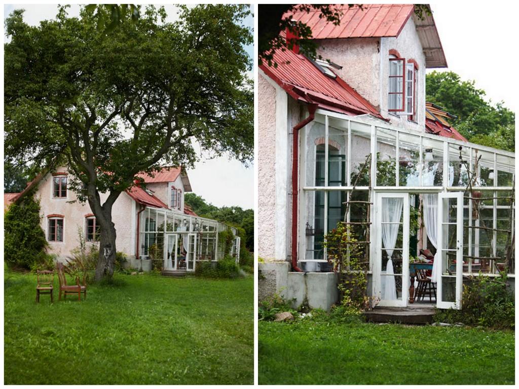 Уютный летний дом в Швеции